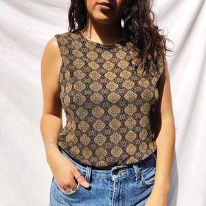 Vintage oriental like blouse